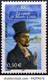 FRANCE - CIRCA 2003: A stamp printed in France shows Count of Monte Cristo, circa 2003