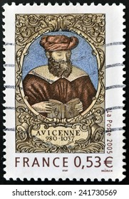 FRANCE - CIRCA 2005: A stamp printed in France shows Avicenna, circa 2005