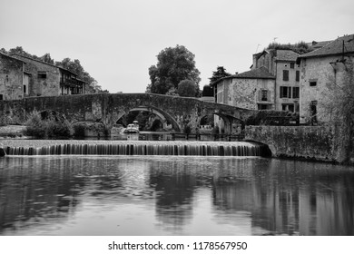 France, Lot et Garonne, Nérac, its old bridge