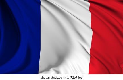 France flag HI-RES collection