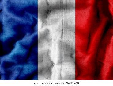 France flag idea design