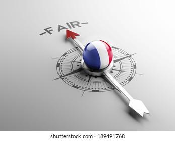 France High Resolution Fair Concept