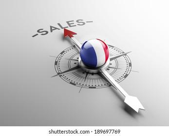 France High Resolution Sale Concept