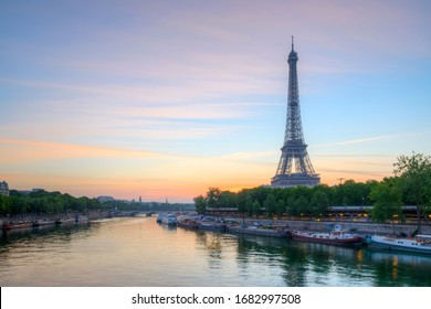 France, Ile-de-France, Paris, July 24th 2017, Tour Eiffel is a tower on the Champ de Mars, it is named after the engineer Gustave Eiffel, constructed as the entrance to the 1889 World's Fair