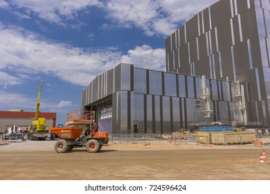 FRANCE - JULY 31, 2017: ITER, International Fusion Energy Organization.