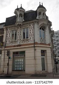 Châteauroux, France - June 3, 2018. Historic building.
