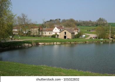France, la ferme du Haubert in Brueil en Vexin