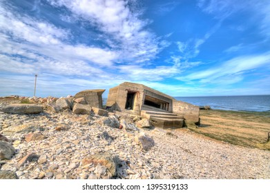 France Normandy blockhouse at Grancamp Maisy