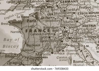 France , Paris background
