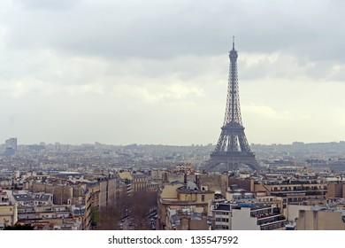 France, Paris. Eiffel Tower