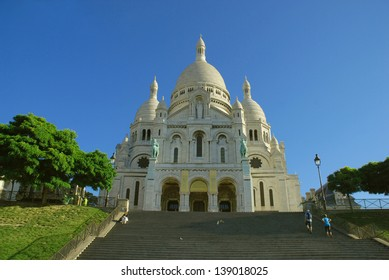FRANCE PARIS SACRE-COEUR CATHEDRAL