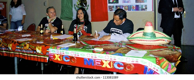 FRANCE, PARIS - SEPTEMBER 15, 2012: National Mexican Day of the Scream organized by the Mexican embassy on September 15, 2012, in Paris, France