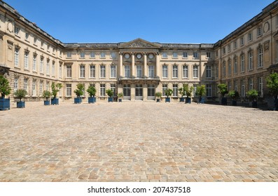 France, the picturesque castle of  Compiegne in Oise