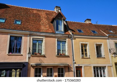 France, the picturesque city of Belleme in Normandie