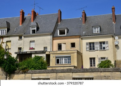 France, the picturesque city of Gisors in Normandie