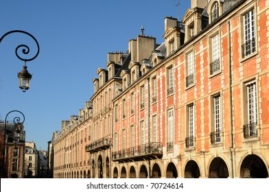 France, Place des Vosges in Paris