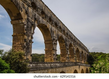 France Provence Languedoc Roussillon - Ancient Roman Bridge Pont du Gard