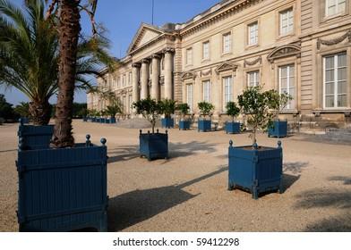 France, royal castle of Compiegne