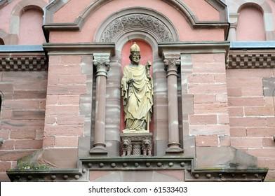 France, Saint Leon IX chapel in Eguisheim