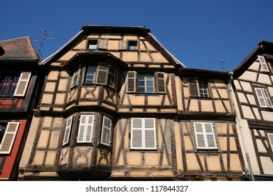 France, the village of Kaysersberg in Alsace