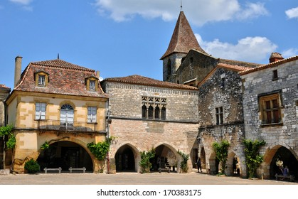 France, the village of Monpazier in Perigord
