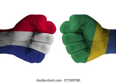 FRANCE vs GABON