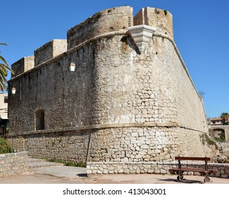 In France,on the french riviera,in Antibes the bastion is an ancient defensive fort which shelters the archeology museum.It presents a collection of remains from  terrestrial and submarine excavations