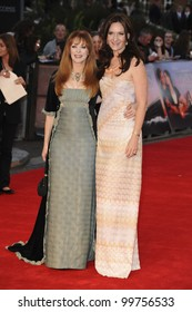 "Frances Fisher and Rochelle Rose arriving for the ""Titanic 3D"" premiere at the Royal Albert Hall, Kensington, London. 27/03/2012 Picture by: Steve Vas / Featureflash"