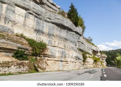 Franch Jura Mountains near Pontarlier