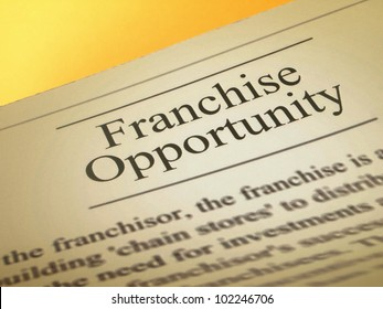 Franchise and business opportunity
