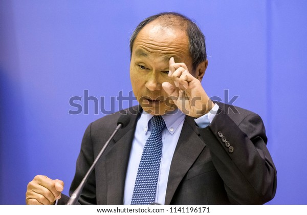 Francis Fukuyama during his visit in Kyiv, Ukraine. Yoshihiro Francis Fukuyama  is an American political scientist, political economist, and author. 23-04-2018