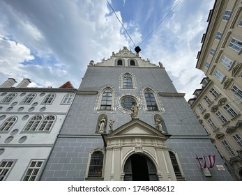 Franciscan Church Vienna, famous place in Innere Stadt of Vienna - Shutterstock ID 1748408612