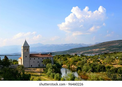 Franciscan Monastery of the Blessed Virgin Mary in Donji Karin, Croatia.