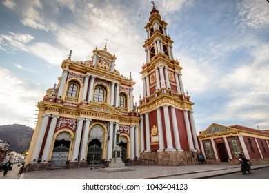 Francisco cathedral in Salta, Argentina