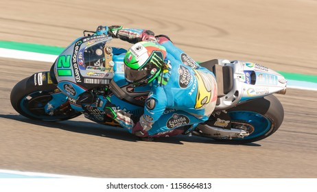 Franco Morbidelli during MotoGP Motul TT Assen race in TT Circuit Assen (Assen - Netherlands) on June 30 2018