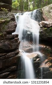 Franconia Notch falls