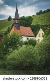 Franconian Landscape with Church and Village