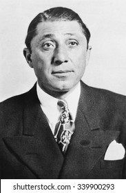 Frank 'The Enforcer' Nitti was a first cousin of Al Capone. In March 1943 he was indicted with several other Mafioso from Chicago and New Jersey for extorting $2,500,000 from the motion picture indust