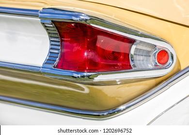 Franken, Germany, 18 June 2016: US vintage car
