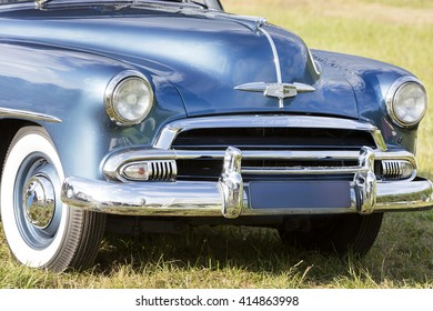Franken, Germany, 21 June 2015: US vintage car
