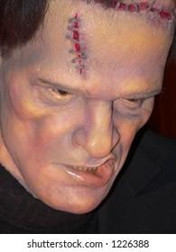 Frankenstein wax portrait
