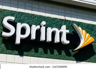 Frankfort - Circa August 2018: Sprint mobile phone store. Opposition is growing to the T-Mobile Sprint merger I