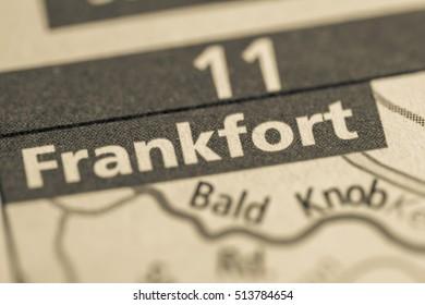 Frankfort. Kentucky. USA