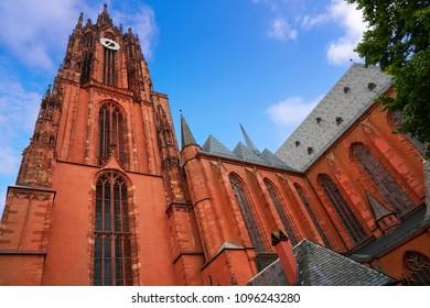 Frankfurt Cathedral Kaiserdon St Bartholomaus in Germany
