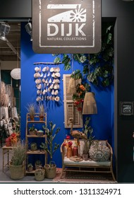 Frankfurt, Germany. 11th Feb 2019. Impressions from the Ambiente trade fair 2019: Display by DIJK Natural Collections. Ambiente is a leading consumer goods trade fair