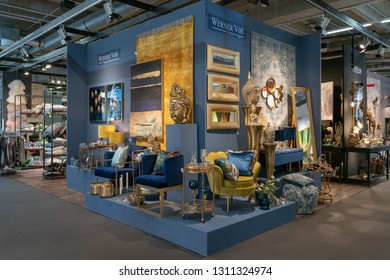 Frankfurt, Germany. 11th Feb 2019. Impressions from the Ambiente trade fair 2019: Indiam style decoration by Werner Voß. Ambiente is a leading consumer goods trade fair