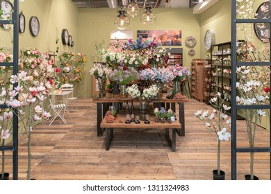 Frankfurt, Germany. 11th Feb 2019. Impressions from the Ambiente trade fair 2019: Plant decoration by Decostar. Ambiente is a leading consumer goods trade fair