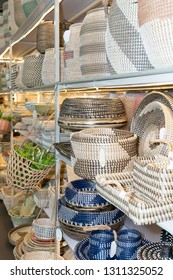 Frankfurt, Germany. 11th Feb 2019. Impressions from the Ambiente trade fair 2019: Baskets. Ambiente is a leading consumer goods trade fair