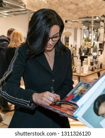 Frankfurt, Germany. 11th Feb 2019. Verona Pooth signing autographs at Ambiente trade fair 2019. Ambiente is a leading consumer goods trade fair