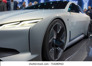 Frankfurt, Germany. 12th Sep, 2017. Photos from the BMW press presentation at the 65th IAA International Motor Show in Frankfurt/Main on Tuesday, September 12th, 2017
